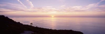 Mediterranean Sea, Sunset--Photographic Print