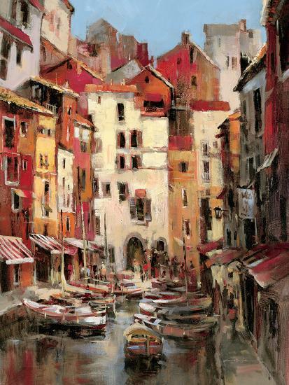 Mediterranean Seaside Holiday 1-Brent Heighton-Art Print