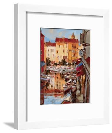 Mediterranean Seaside Holiday 2-Brent Heighton-Framed Premium Giclee Print
