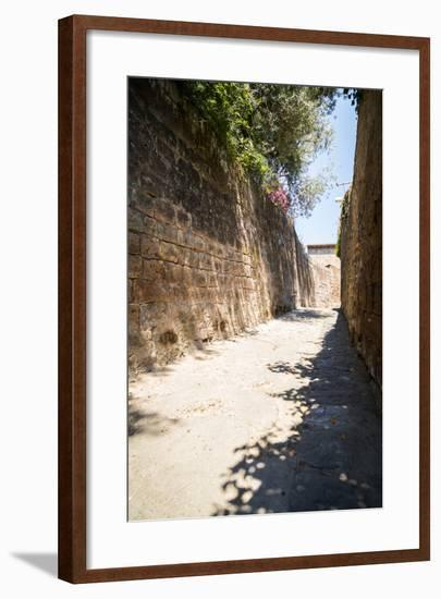 Mediterranean Streets of the Italian City-Alexandr L-Framed Photographic Print