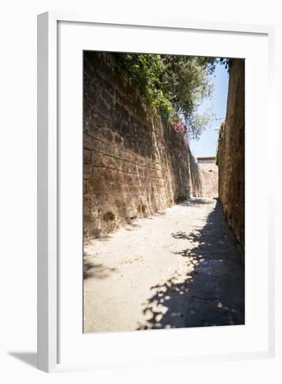 Mediterranean Streets of the Italian City-Alexandr L-Framed Photographic Print