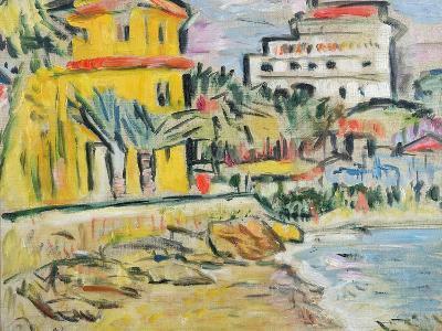 Mediterranean Town-George Leslie Hunter-Giclee Print