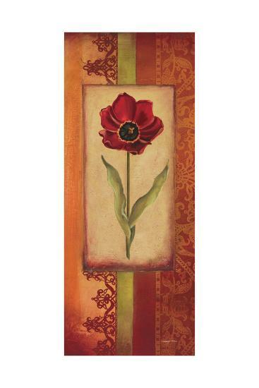 Mediterranean Tulip II-Kimberly Poloson-Art Print