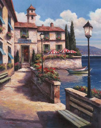 Mediterranean Villa I-T^ C^ Chiu-Art Print
