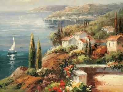 Mediterranean Vista-Peter Bell-Premium Giclee Print