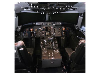 medium-range Boeing 757 Cockpit--Art Print