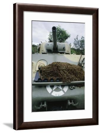 Medium Tank M4 Sherman, 1943--Framed Giclee Print