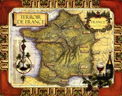 Medium Wine Map II