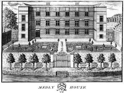 Medley House, Oxford--Giclee Print
