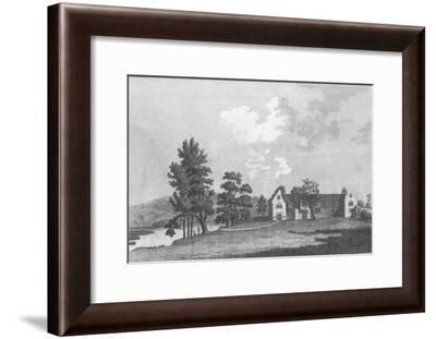 'Medmenham Abbey near Henley on Thames', 1787-J Newton-Framed Giclee Print
