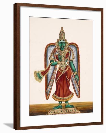 Meenakshi, Goddess of Madura, from Thanjavur, India--Framed Giclee Print