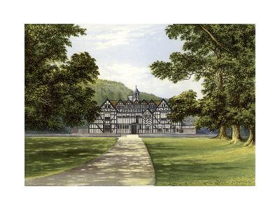 Meer Hall, Near Droitwich, Worcestershire, Home of the Bearcroft Family, C1880-Benjamin Fawcett-Giclee Print