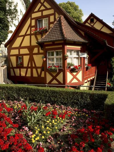 Meersburg Old Town, Bodensee, Baden-Wurttemberg, Germany-G Richardson-Photographic Print