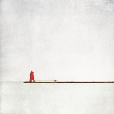 Meet Me at the Red Lighthouse-Margaret Morrissey-Photographic Print