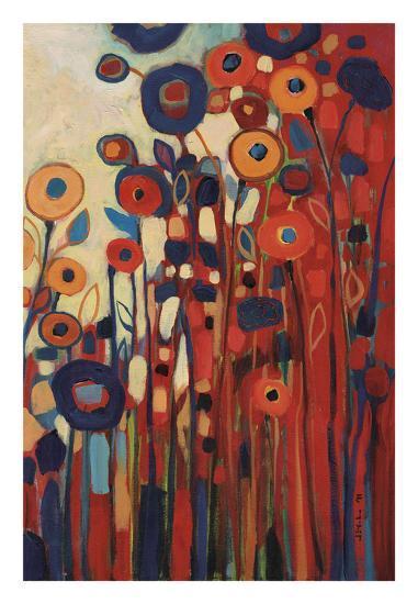 Meet Me In My Garden Dreams Pt. 2-Jennifer Lommers-Art Print