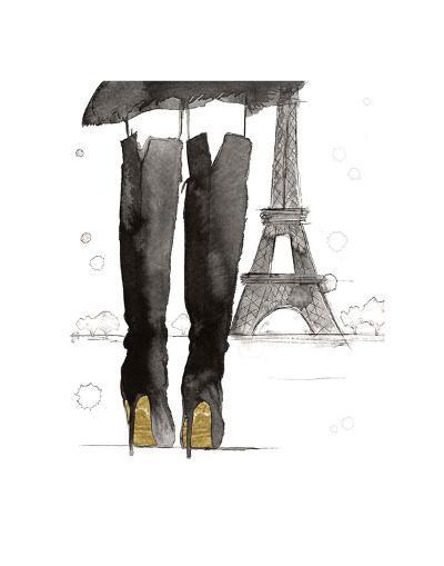 Meet me in Paris-Jessica Durrant-Art Print