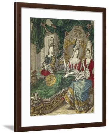 Meeting of Ladies--Framed Giclee Print