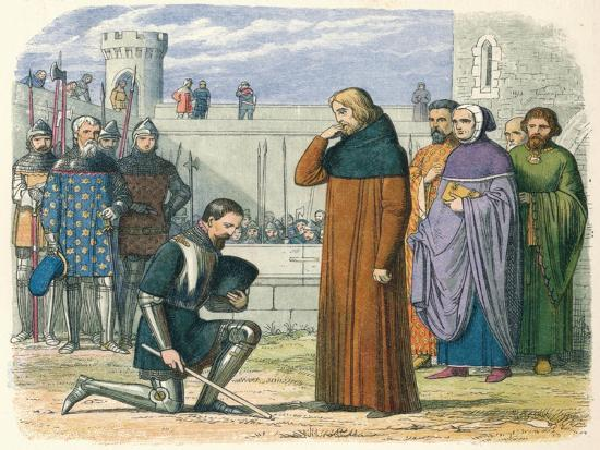 'Meeting of Richard and Henry', 1399 (1864)-James William Edmund Doyle-Giclee Print