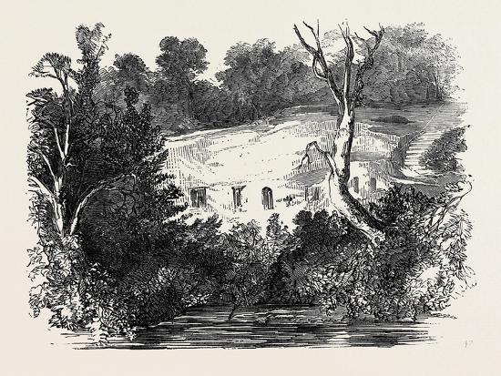Meeting of the Archaeological Institute, at Newcastle Upon Tyne: the Hermitage, Warkworth--Giclee Print