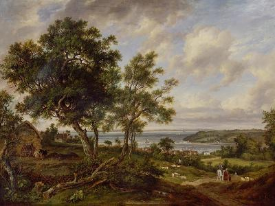 Meeting of the Avon and the Severn, 1826-Patrick Nasmyth-Giclee Print