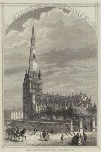Meeting of the British Association at Bristol, St Mary Redcliffe Church