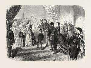 Meeting of the French and Spanish Royal Families in the Hotel De Ville, St. Sebastian, 1865