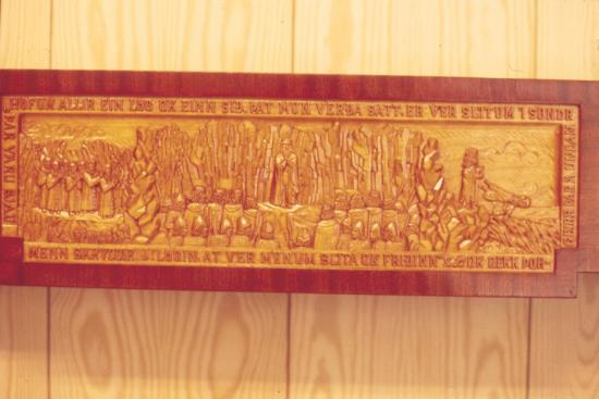 Meeting of the Thing (Iceland's Democratic Parliament) in AD1000-Unknown-Giclee Print