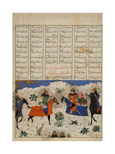 Meeting of Two Muslim Generals--Art Print