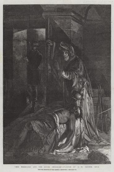 Meg Merrilies and the Dying Smuggler, from the Exhibition of the National Institution-James Eckford Lauder-Giclee Print