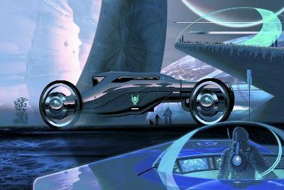 Megafuture Cybertram Coach XXVI-Fernando Palma-Giclee Print