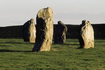 Megaliths at Avebury, Wiltshire, England, United Kingdom--Giclee Print