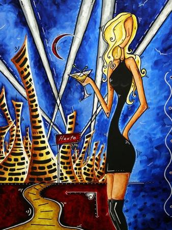 A Toast To The Little Black Dress by Megan Aroon Duncanson