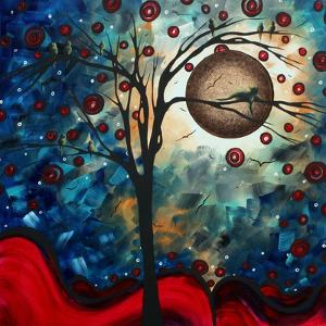 Abstract Bird Cat by Megan Aroon Duncanson