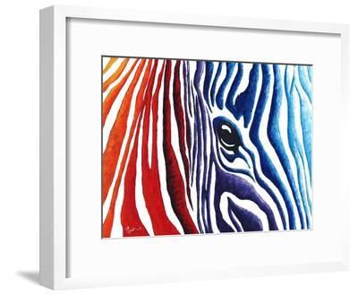 Abstract Pop Zebra
