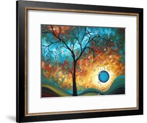 Aqua Burn by Megan Aroon Duncanson