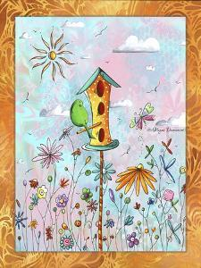 Bird House 3 by Megan Aroon Duncanson