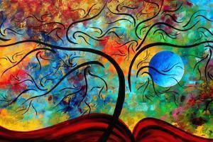 Blue Moon Risin by Megan Aroon Duncanson