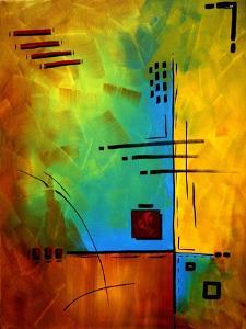 Bold Abstract Geometric by Megan Aroon Duncanson