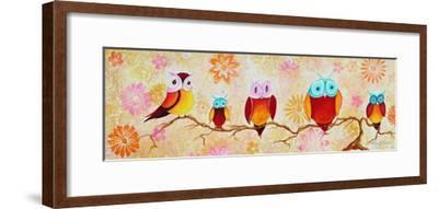 Chi Omega Owl Painting