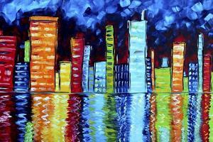 City Nights II by Megan Aroon Duncanson