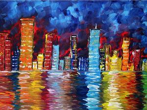 City Nights by Megan Aroon Duncanson