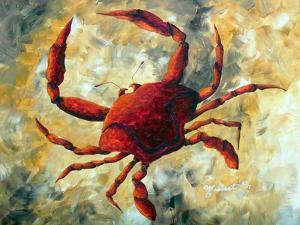 Coastal Luxe Crab by Megan Aroon Duncanson