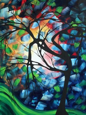 Colorful Tree Maze by Megan Aroon Duncanson