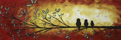 Family of Three by Megan Aroon Duncanson