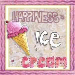Happiness Is Ice Cream by Megan Aroon Duncanson