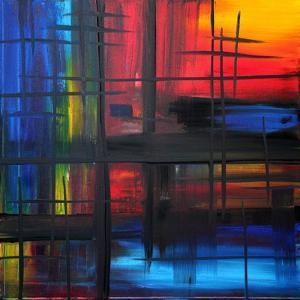 Over The Rainbow by Megan Aroon Duncanson