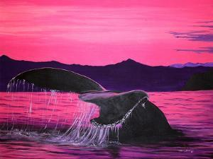 Pink Whale by Megan Aroon Duncanson