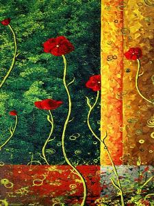 Poppy Madness by Megan Aroon Duncanson