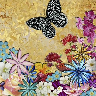 Whimsical Floral Collage 4-2