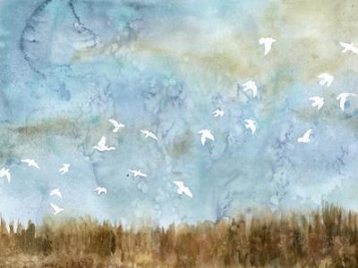 Birds in Flight I by Megan Meagher
